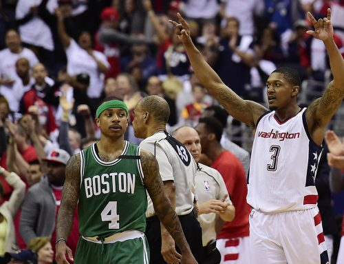 Tied at Two: 26-0 Run Gives Wiz Game 4 Win