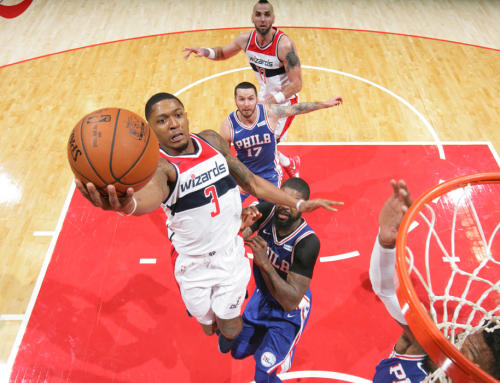 1-0: Wiz Top 76ers on Opening Night At Home