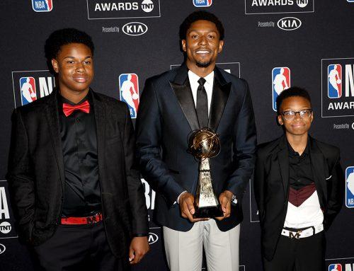 Brad Receives NBA Community Award