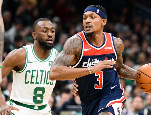 Beal Shines in Shootout With Celtics