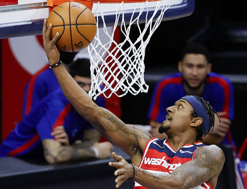 Brad Drops 60 on Sixers, But Wiz Fall in Philly