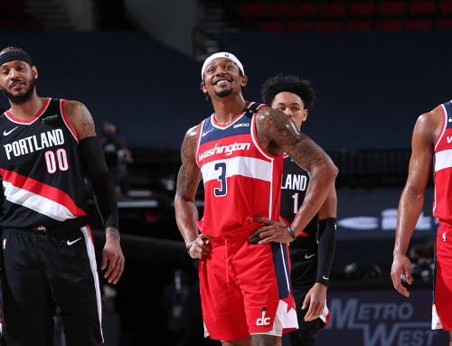 Beal Drives Wiz To Road Win in Portland