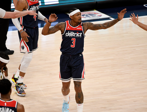 Wizards Run Up 150 Points, Knock Off Pacers