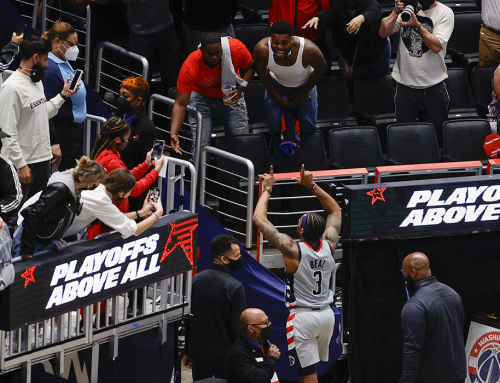 Wizards Stay Alive With Balanced Game 4 Win