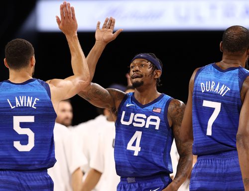 BB Pours in 17 in Team USA's Exhibition Win
